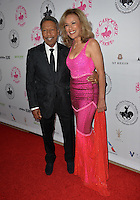 BEVERLY HILLS, CA. October 8, 2016: Billy Davis Jr &amp; Marilyn McCoo at the 2016 Carousel of Hope Ball at the Beverly Hilton Hotel.<br /> Picture: Paul Smith/Featureflash/SilverHub 0208 004 5359/ 07711 972644 Editors@silverhubmedia.com