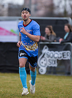 MASON NOISE (X FACTOR 2015) during the SOCCER SIX Celebrity Football Event at the Queen Elizabeth Olympic Park, London, England on 26 March 2016. Photo by Andy Rowland.