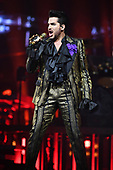 SUNRISE FL - AUGUST 17: Adam Lambert of Queen + Adam Lambert performs at The BB&T Center on August 17, 2019 in Sunrise, Florida. Photo by Larry Marano © 2019
