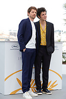 CANNES, FRANCE - MAY 11: Pierre Deladonchamps and Vincent Lacoste attends the photocall for 'Sorry Angel (Plaire, Aimer Et Courir Vite)' during the 71st annual Cannes Film Festival at Palais des Festivals on May 11, 2018 in Cannes, France. <br /> CAP/GOL<br /> &copy;GOL/Capital Pictures