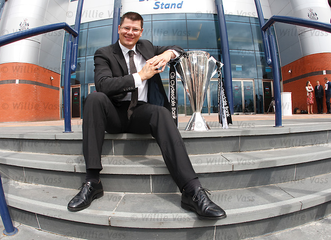 Neil Doncaster, new SPL Chief Executive