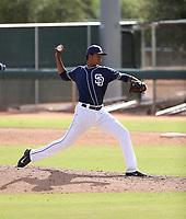 Manny Guzman - 2017 AIL Padres (Bill Mitchell)