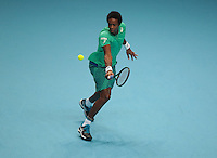Gael Monfils (FRA)(6) action against Dominic Thiem (AUT)(8) in their van Lendl Group  match during Day Three  of the Barclays ATP World Tour Finals 2015 played at The O2 Arena, London on November 15th  2016<br /> <br /> <br /> <br /> <br /> Bob Bryan (USA)and Mike Bryan (USA)(3)action against  Jimmy Murray (GBR) and Bruno Sobres (BRA)(2)in their Fleming/McEnroe Group  match during Day Three  of the Barclays ATP World Tour Finals 2015 played at The O2 Arena, London on November 15th  2016<br /> <br /> <br /> <br /> <br /> (BLR)(8)   in their Edberg/ Jarryd /Group  match during Day Three  of the Barclays ATP World Tour Finals 2015 played at The O2 Arena, London on November 15th  2016