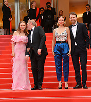 "CANNES, FRANCE. May 22, 2019: Sara Forestier, Arnaud Desplechin, Lea Seydoux & Antoine Reinartz at the gala premiere for ""Oh Mercy!"" at the Festival de Cannes.<br /> Picture: Paul Smith / Featureflash"