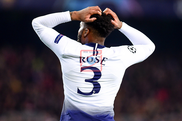 UEFA Champions League 2018/2019 - Matchday 6.<br /> FC Barcelona vs Tottenham Hotspur FC: 1-1.<br /> Rose.