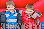 Pictured at Mighty Mikeys birthday party at Lee Strand on Saturday, from left: Cillian Hussey and Dara Nolan, from Kilflynn..