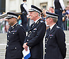 Celebration of record number of young volunteer Police cadets in London aged 10-19 at a ceremony in Trafalgar Square, London, Great Britain 3rd August 2015 <br />  <br /> The Mayor of London Boris Johnson and the Metropolitan Chief Police Commissioner Sir Bernard Hogan-Howe made speeches and met some of the volunteers. <br /> <br /> <br /> Photograph by Elliott Franks <br /> Image licensed to Elliott Franks Photography Services