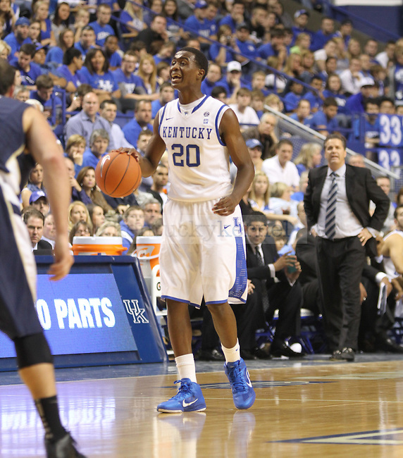 Doron Lamb during the East Tennessee State University at Rupp Arena on Friday, November 12, 2010. Photo by Latara Appleby | Staff
