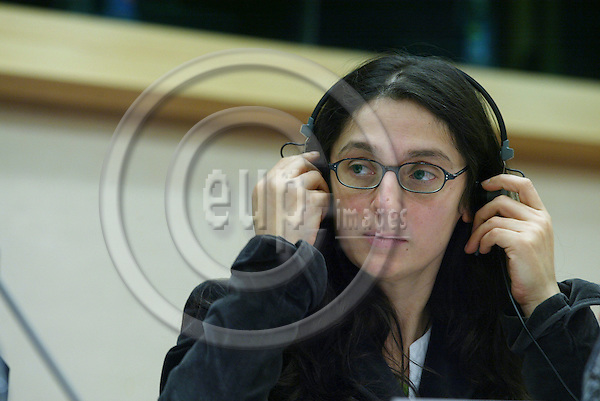 BRUSSELS - BELGIUM - 17 OCTOBER 2006 -- Conference:  Working time and work-life balance: A policy dilemma?  -- Tina WEBER , CEEP Social Affairs Committee.   PHOTO: ERIK LUNTANG / EUP-IMAGES