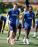 24.06.2019 Rangers training in Algarve: Jake Hastie and Jermain Defoe