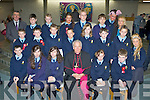 Pupils from Mr Tom Galvin's class in St Oliver's NS, Killarney who were confirmed by Bishop Bill Murphy in the church of the Ressurection, Killarney on Friday..
