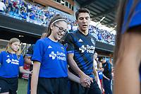 San Jose, CA - July 14, 2017: San Jose Earthquakes vs Eintracht Frankfurt during an international friendly at Avaya Stadium.