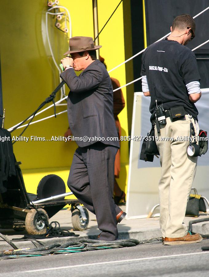 December 14th 2011 ..Josh Brolin filming Ganster Squad in Los Angeles..AbilityFilms@yahoo.com.805-427-3519.www.AbilityFilms.com..