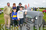 Lixnaw Vintage Rally :Pictured at the annual vintage rally in Lixnaw on Sunday last were Sean Goggin, Cillian Trant, Gerald Lynch & Declan Lynch and in front David Hunt & Padraig Hunt.