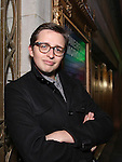 Will Roland photo shoot for his Broadway debut in 'Dear Evan Hansen' at The Music Box Theatre on December 7, 2016 in New York City.