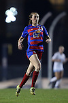 18 November 2016: Kansas's Grace Hagan. The University of North Carolina Tar Heels played the University of Kansas Jayhawks at Fetzer Field in Chapel Hill, North Carolina in a 2016 NCAA Division I Women's Soccer Tournament Second Round match. UNC won the game 2-0.