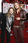 """Musicians Carolina Liar arrive at the Premiere Of Fox's """"What Happens In Vegas"""" on May 1, 2008 at the Mann Village Theatre in Los Angeles, California."""