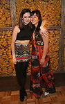 Talene Monahon and Sasha Diamond attends the Opening Night Press Reception for the Roundabout Theatre Company/Roundabout Underground production of 'Bobbie Clearly' at The Black Box Theatre on April 3, 2018 in New York City.