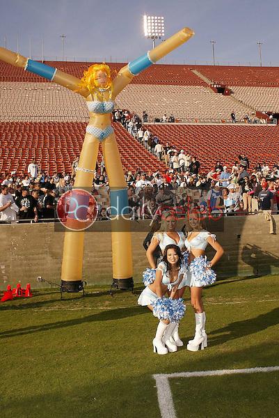 Team Dream cheerleaders
