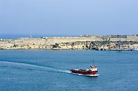 Blick von Valletta nach Osten, Malta, Europa
