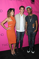Jessica Szohr, Miles Teller, Scott Mescudi<br /> &quot;Two Night Stand&quot; Los Angeles Premiere, Chinese 6, Hollywood, CA 09-16-14<br /> David Edwards/DailyCeleb.com 818-249-4998