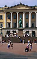 Norwegen, Oslo, Det Kongelige Slott - Schloss