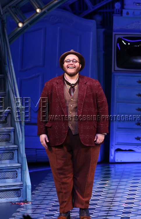 Randy Blair during the Broadway Opening Night Performance Curtain Call for 'Amelie' at the Walter Kerr Theatre on April 3, 2017 in New York City