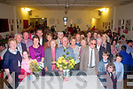 50 Years A Priest: Fr. Gerard O'Connell, PP Irremore & Rathea celebrating his 50 years as a priest with family & friends at the Ceolan Centre, Lixnaw on Friday night last.....O68 40244