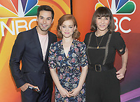 NEW YORK, NY - MAY 09:Skylar Astin, Jane Levy and Mary Steenburgen   attends the 2019/2020 NBC Upfront presentation at the    Fourr Seasons Hotel on May 13, 2019in New York City.  <br /> CAP/MPI/JP<br /> ©JP/MPI/Capital Pictures