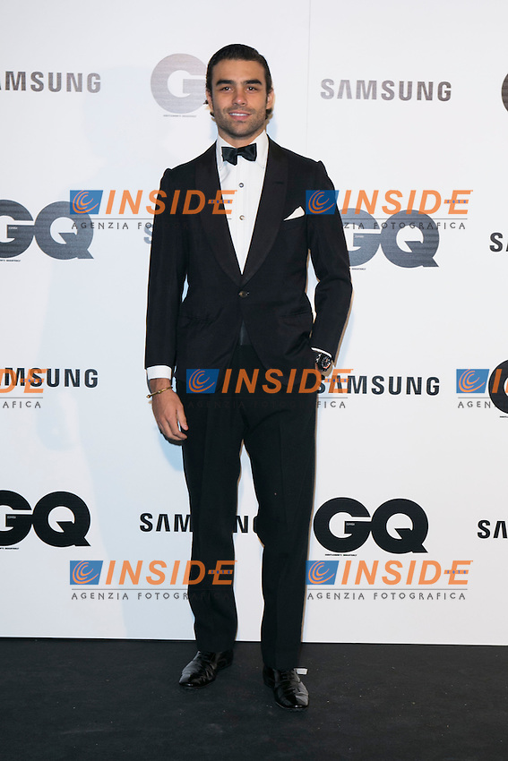 """Diego Osorio attends the """"GQ AWARDS"""" at Palace Hotel in Madrid, Spain. November 3, 2014. (ALTERPHOTOS/Carlos Dafonte/Insidefoto)"""