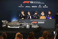 31st October 2019; Circuit of the Americas, Austin, Texas, United States of America; F1 United States Grand Prix, team arrival day; ROKiT Williams Racing, George Russell, SportPesa Racing Point, Lance Stroll, Aston Martin Red Bull Racing, Max Verstappen, McLaren, Lando Norris and Scuderia Toro Rosso, Pierre Gasly - Editorial Use
