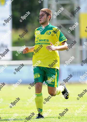 2012-07-22 / Voetbal / seizoen 2012-2013 / Witgoor Dessel / Kushtrim Llapashtica..Foto: Mpics.be
