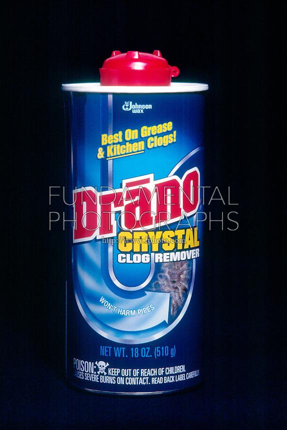 DRANO<br /> Uses Lye (Sodium Hydroxide)