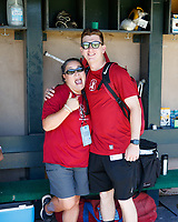 STANFORD, CA - June 3, 2018: Stanford Baseball wins over Baylor 4-2 in its third game of the NCAA Regionals at Sunken Diamond.
