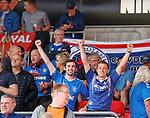 08.08.2019 FC Midtjylland v Rangers: Rangers fans