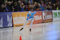 SCHAATSEN: IJsstadion Kardinge Groningen, NK Sprint Groningen 5-01- 2013, Marrit Leenstra, ©foto Martin de Jong