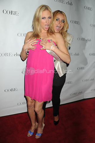 Deborah Gibson and Aubrey O'Day at the 'Celebrity Apprentice' Panel Discussion at The Core Club on May 22, 2012 in New York City.. Credit: Dennis Van Tine/MediaPunch