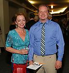 Torrington, CT 052017MK13 Linda Marois-Richardson and Justin Freeman gathered at the 19th Annual Warner Theatre Gala on Saturday. Michael Kabelka / Republican-American