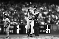 Doug Drabek of the Houston Astros at Dodger Stadium in Los Angeles,California during the 1996 season. (Larry Goren/Four Seam Images)