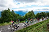 Picture by Alex Whitehead/SWpix.com - 14/07/2017 - Cycling - Le Tour de France - Stage 13, Saint-Girons to Foix - Mur de Peguere.
