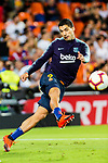 Luis Suarez of FC Barcelona warming up during their La Liga 2018-19 match between Valencia CF and FC Barcelona at Estadio de Mestalla on October 07 2018 in Valencia, Spain. Photo by Maria Jose Segovia Carmona / Power Sport Images
