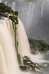 Santa Maria Waterfall at Iguazu Falls National Park in Brazil.  A UNESCO World Heritage Site.