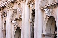 Esterno della Scuola Grande dei Carmini a Venezia.<br /> Exterior of the Scuola Grande dei Carmini in Venice.<br /> UPDATE IMAGES PRESS/Riccardo De Luca