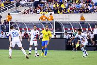EAST RUTHERFORD, EUA, 07.09.2018 - ESTADOS UNIDOS-BRASIL - Neymar Jr. do Brasil durante partida contra os Estados Unidos, amistoso internacional no Estádio MetLife na cidade de East Rutherford nos Estados Unidos na noite desta sexta-feira, 07. (Foto: Vanessa Carvalho/Brazil Photo Press)