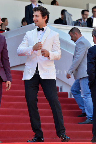 Shia LaBeouf at the &acute;American Honey` screening during The 69th Annual Cannes Film Festival on May 15, 2016 in Cannes, France.<br />
