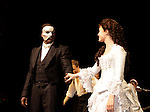 Curtain call on Opening Night with Norm Lewis (All My Children) and Sierra Boggess and cast who are starring in Phantom of the Opera as the first black Phantom starting on May 12 on Broadway at the Majestic Theatre, New York City, New York  (Photo by Sue Coflin/Max Photos)