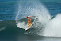Coco Ho at Rocky Pt on the northshore of Oahu in Hawaii.
