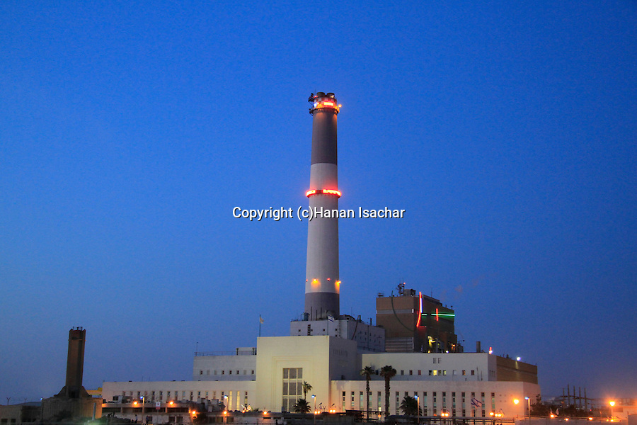Israel, Tel Aviv-Yafo, Reading Power plant, built in 1938