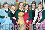 Drama ladies: Getting all ready for the Listowel Gaelscoil Production of Rumpelstiltskin, their entry for the Kerry schools Coirm drama competition in Siamsa Tire next week. Pictured were Siobhan Heffernan, Laura Ni Dhrisceoil, Alana O'Connor, Megan Keane, Amanda Ni Lochnainn and Rebekah Ni Ghairbhith.
