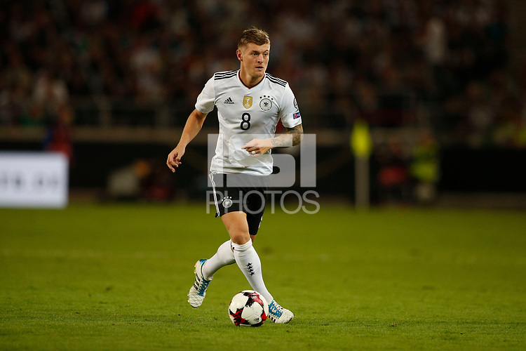 Soccer Football - 2018 World Cup Qualifications - Europe - Germany v Norway - Stuttgart, - 04.09.2017, 2017.<br /> Toni KROOS (GER)<br />  *** Local Caption *** &copy; pixathlon<br /> Contact: +49-40-22 63 02 60 , info@pixathlon.de